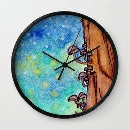 A Magical Night Wall Clock