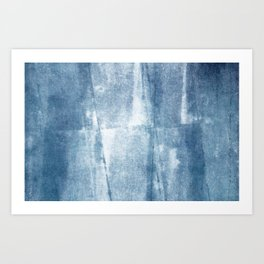 Primitive Composition (Abstract Allegory) II Art Print