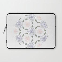 Floral circle Laptop Sleeve