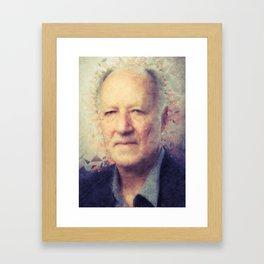 Werner Herzog Framed Art Print