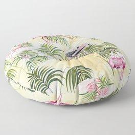 Pink Birds Floor Pillow