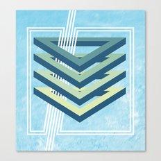 Four Triangles  Canvas Print