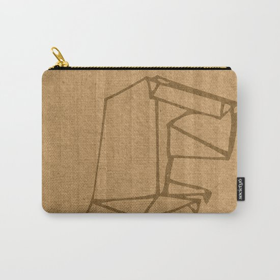 Origami - Dino Carry-All Pouch