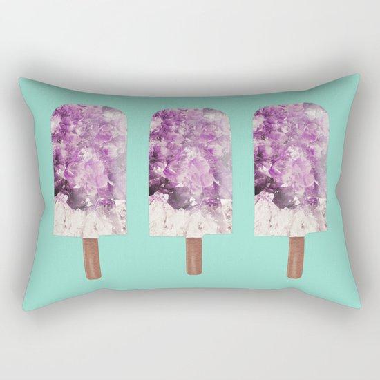 Amethyst Popsicle Rectangular Pillow