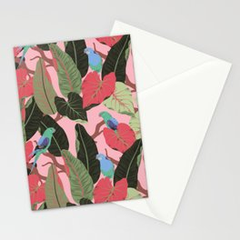 Sunny Hawaii Tropical Exotic Birds of Paradise Stationery Cards