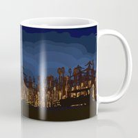boardwalk empire Mugs featuring boardwalk empire by christopher-james robert warrington