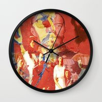 destiny Wall Clocks featuring  Destiny by Joe Ganech