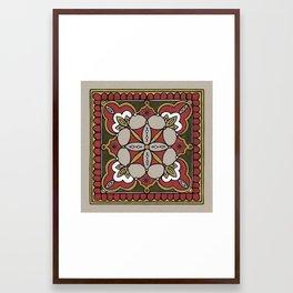 Arabesque n°1 Framed Art Print