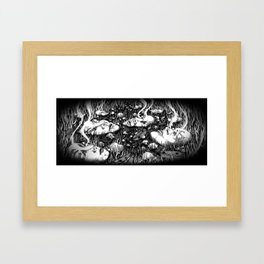 Submerged Framed Art Print