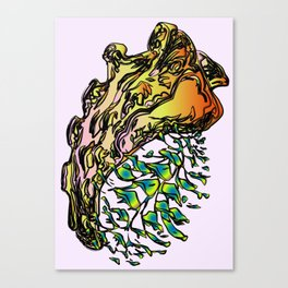 Clavibone Canvas Print