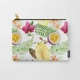 Fruits and Flowers Carry-All Pouch