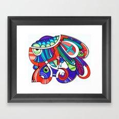 Pla Framed Art Print
