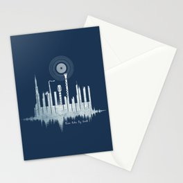 Music Rules My World Stationery Cards