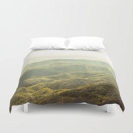 Smoky Mountain Sunshine Duvet Cover