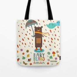 Baby Bears Icecar Tote Bag