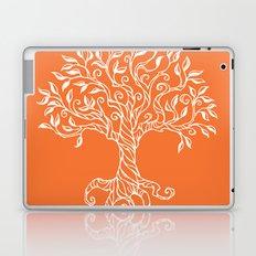 Tree of Life Orange Laptop & iPad Skin