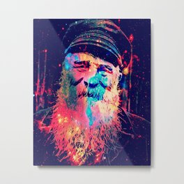 Old Man and the Stars Metal Print