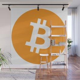Bitcoin Wall Mural