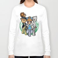 oz Long Sleeve T-shirts featuring Oz  by Mickey Spectrum