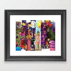 East to East Framed Art Print