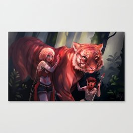 Savages Canvas Print