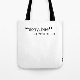 BTS: cypher pt. 4 Tote Bag