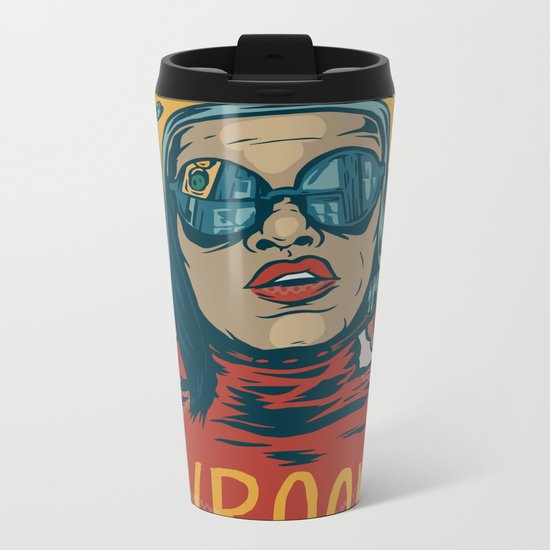 Vroom Metal Travel Mug