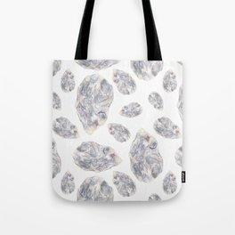 Diamond Birthstone Watercolor Illustration Tote Bag