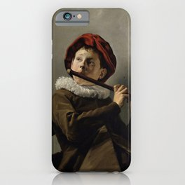"Judith Leyster ""Boy playing the Flute"" iPhone Case"