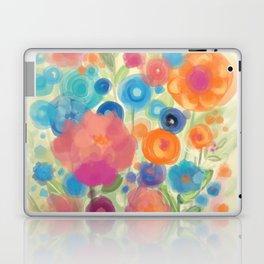 Flower Power Garen by Odette Lager Laptop & iPad Skin