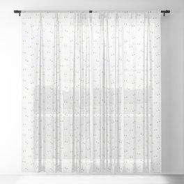Kawaii Animals - Rabbit, Cat & Bear Pattern Sheer Curtain