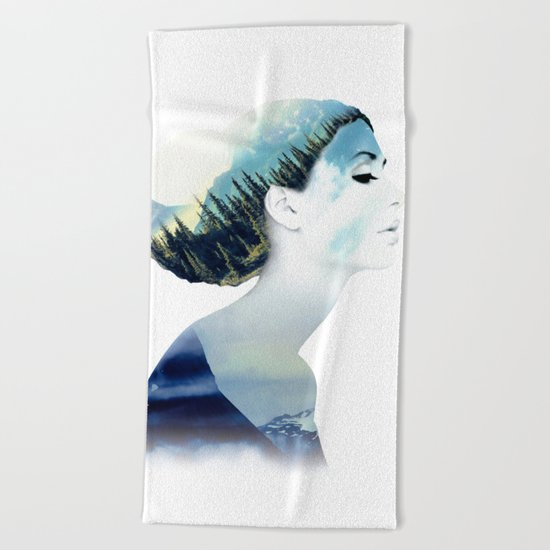 Women Beach Towel