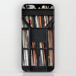 Vinyl DJ Crate iPhone Skin