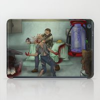 last of us iPad Cases featuring The Last of Us by Luis Lara