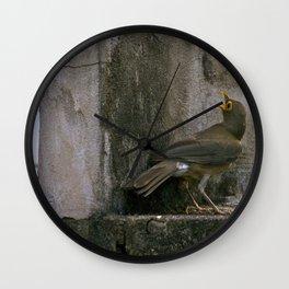 Big Eyed Grieve Wall Clock