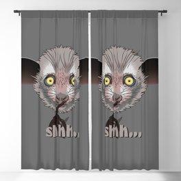 Aye-Aye Lemur Blackout Curtain