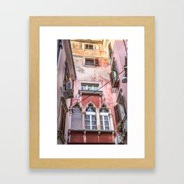 Pink Passage Framed Art Print