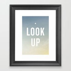 It's a Beautiful Day Framed Art Print