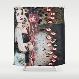 Bloody Smoke Shower Curtain