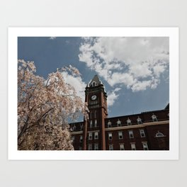 Fenwick Clock Tower Art Print