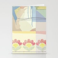 wallpaper Stationery Cards featuring Wallpaper by John Murphy