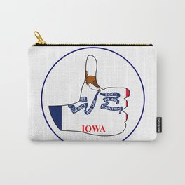 Thumbs Up Iowa Carry-All Pouch