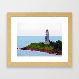 Lighthouse Cape Jourimain N-B Framed Art Print