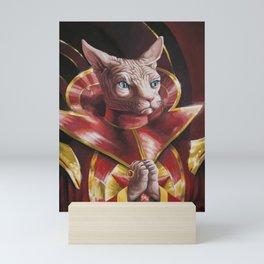 Ming the Fur-ciless Mini Art Print