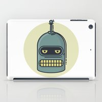 bender iPad Cases featuring Bender by Thiago Grossmann