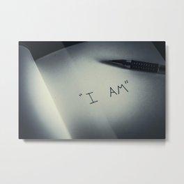I AM Metal Print