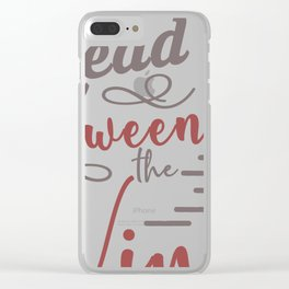 Harvest between wines Clear iPhone Case