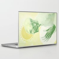 dragon age Laptop & iPad Skins featuring Dragon Age: Solas by Couple Of Kooks