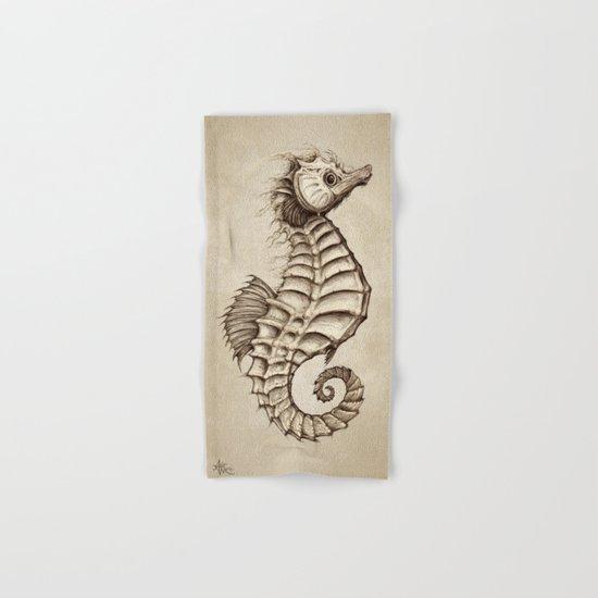 Fantasy Seahorse ~ Vintage Hand & Bath Towel