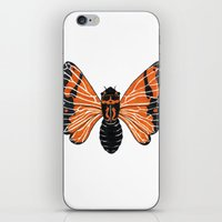 moth iPhone & iPod Skins featuring Moth by Eric Weiand